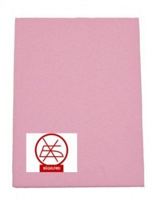 Dětské prostěradlo s gumou 60x120cm a 70x140cm, barva růžová