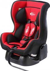 Detská bezpečnostná autosedačka MamaKiddies Baby (0-18 kg), farba červená