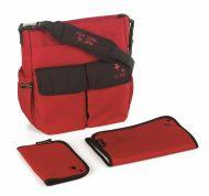 Přebalovací taška MAMA JANÉ - červená