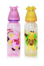 Baby Care kojenecká láhev s hlavou zvířátka - 250 ml