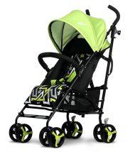 Máma Kiddies Mignon full extra sportovní kočárek skládatelný na deštník v zelené barvě + dárek