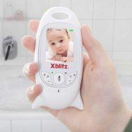 Xblitz Elektronická bezdrôtová opatrovateľka s kamerou -biela