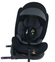 Mama Kiddies Rolling Safari bezpečnostní autosedačka s ISOFIX systémem, s otáčením do 360 ° (0-36 kg), vzor Lev + dárky