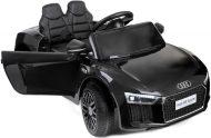 Audi R8 Spyder černé elektrické auto s dálkovým ovládáním a dvěma akumulátory