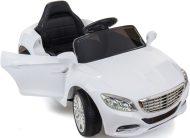 Biele elektrické športové auto na diaľkové ovládanie