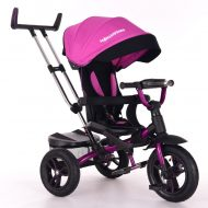 Mama Kiddies Riker Pinky tříkolka (s otočným sedadlem o 360°)