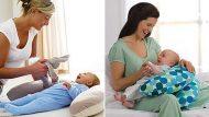 Kvalitní polštář na kojení ve tvaru podkovy - s výplní (ve více barevných provedeních)