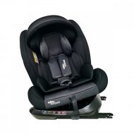 Detská autosedačka MamaKiddies Rotary  Protect GT s 360° otáčaním (0-36kg) s ISOFIX systémom, farba čierna + darček clona proti slnku