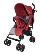 Mama Kiddies Mignon full extra sportovní kočárek skládatelný na deštník v červené barvě + dárek