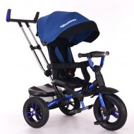 Mama Kiddies Riker Bluey tříkolka (s otočným sedadlem o 360°)