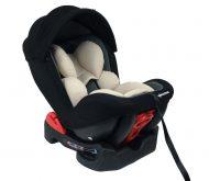 Mama Kiddies Baby Armand dětská bezpečnostní autosedačka (0-18 kg), barva béžovo-šedo-černá + dárek clona proti slunci