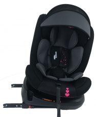 Mama Kiddies Rolling Safari bezpečnostní autosedačka s ISOFIX systémem, s otáčením do 360 ° (0-36 kg), vzor Vílí princezna + dárky