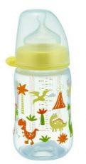 NIP dudlíková láhev plastová PP milk bottle 260 ml