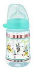 NIP cumlíková fľaša plastová PP milk bottle 260 ml - chlapec