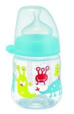 NIP dudlíková láhev plastová PP milk bottle 150 ml - pro kluky