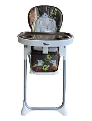 Mama Kiddies ProComfort Newline multifunkční jídelní židle hnědá se vzorem koala + Dárek