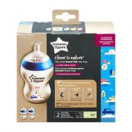 2 ks Tommee Tippee kojeneckých lahví 260 ml bez BPA - color duo pack + Dárek