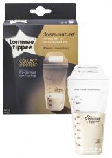 Tommee Tippee sáčky na uskladnění mateřského mléka 350 ml., 36ks