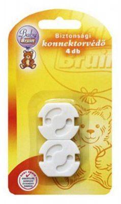 Baby Bruin ochranný kryt do elektrické zásuvky, nebrání použití zásuvky - 4 ks