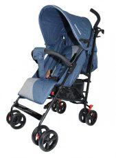 Mama Kiddies Mignon full extra sportovní kočárek skládatelný na deštník v modré barvě + dárek