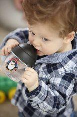 Philips Avent hrnček pre prvé dúšky Premium 260 ml čierny