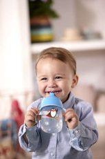 Philips Avent hrnček pre prvé dúšky Premium 340 ml modrý