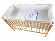 My Zoo Blue - posteľná súprava 4 + 1 diel