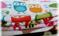 Kvalitní textilní pleny 1 ks (ve více barevných provedeních)