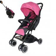 Dětský sportovní kočárek Mama Kiddies JAM ve růžové barvě