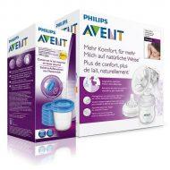 Philips Avent Natural ruční odsávačka mléka + Dárek VIA pohárek 180 ml