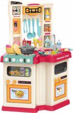 67-dílná Mama Kiddies Talented Chef dětská kuchyňka - červená