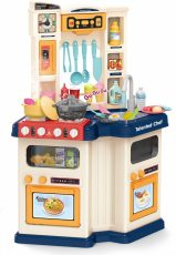 67-dílná Mama Kiddies Talented Chef dětská kuchyňka - modrá