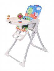 MamaKiddies Animal multifunkčná stolička na kŕmenie so vzorkou žabky +Darček