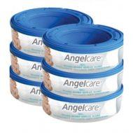 Angelcare plenkové náplně 6ks - náhradní náplň do koše na použité pleny.