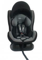 Dětská bezpečnostní autosedačka Mama Kiddies Baby (0-18 kg), barva šedá + dárek clona proti slunci