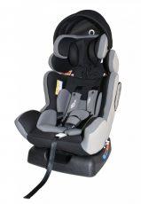 Dětská bezpečnostní autosedačka Mama Kiddies Baby Extra Plus (0-36kg), barva šedá + dárek clona proti slunci