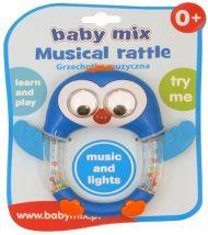 Baby Mix hracia, svietacia hrkálka tučniak