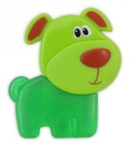 Baby Mix detské hryzátko - zelený psík