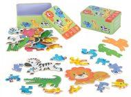 Edukační puzzle safari 25-dílné
