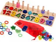 Edukační dřevěná hračka - počítadlo