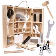 Edukační dřevěná skříňka s nářadím