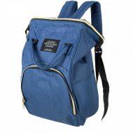 Přebalovací taška - batoh 3v1 - modrá