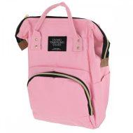 Přebalovací taška - batoh 3v1 - růžová