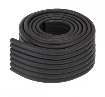 Pěnový chránič hran 8x0,5x200 cm černý
