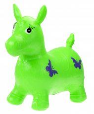 Hopsadlo koník gumový zelený