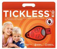 TickLess Baby ultrazvukový odpuzovač klíšťat KID oranžový
