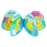 Baby Mix gumená knižka do kúpeľa - kačka