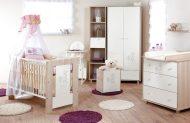 Klups Safari/zajko detská postieľka 60x120 - bielo popolavá