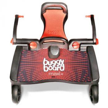 Lascal Maxi+ závesné súrodenecké stúpadlo so sedačkou - červené