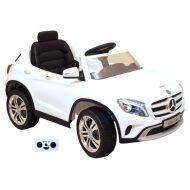Mercedes-Benz GLA elektrické auto s dálkovým ovládáním - bílé